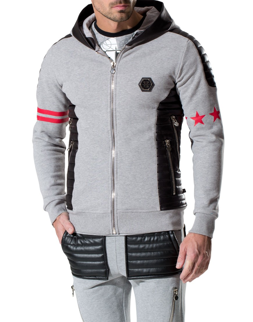 jogging jacket get on top philipp plein. Black Bedroom Furniture Sets. Home Design Ideas