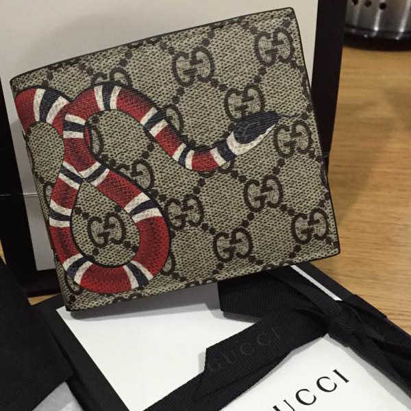 fff12a788ea6e6 Gucci Snake Wallet Unboxing | Stanford Center for Opportunity Policy ...
